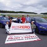 第2回フォルクスワーゲン ゴルフR・GTI少人数レッスン開催